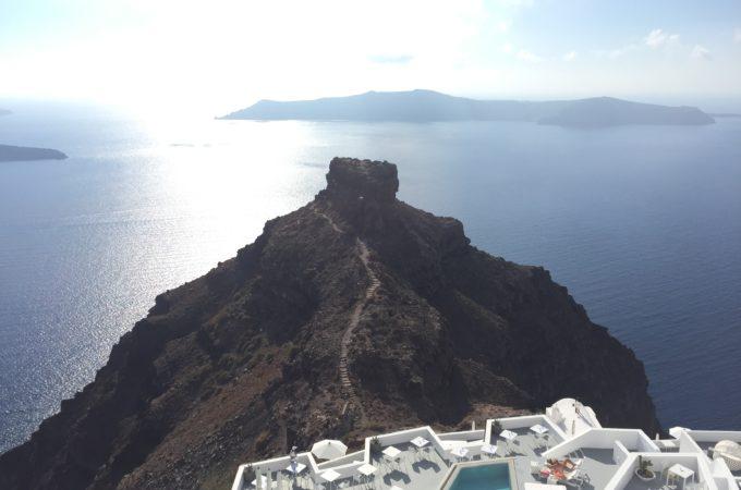 Santorini View – Title