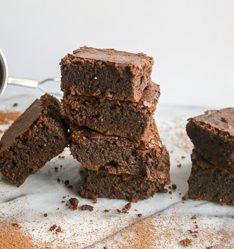Coco brownies with chocolate chunks-- these brownies are made in one bowl,30 minutes,rich, and perfectly sweet! |www.cookeatlaugh.com