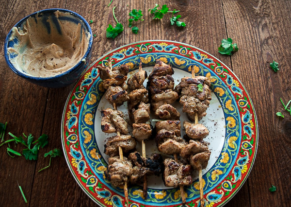 Za'atar chicken with spicy tahini sauce 2