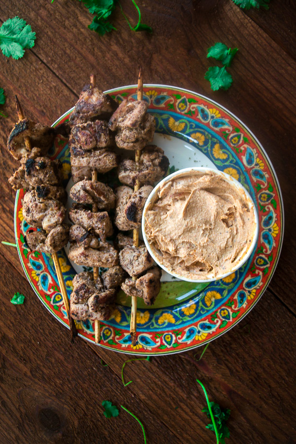 Za'atar chicken with spicy tahini sauce 7