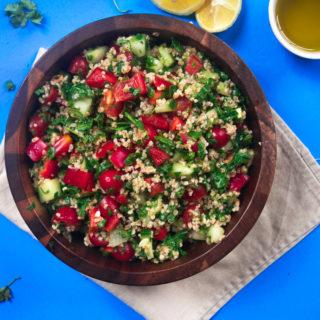 Mediterranean summer salad 10