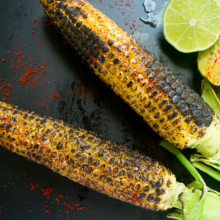 grilled corn on the cob ( Indian style) f1