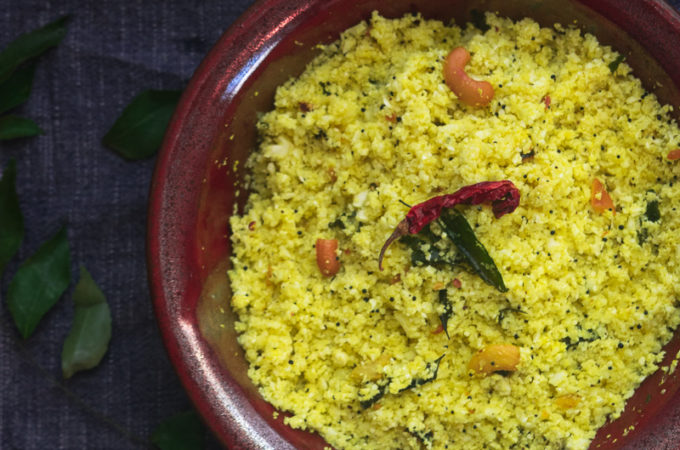 Quick 10-Minute Lemon Cauliflower rice