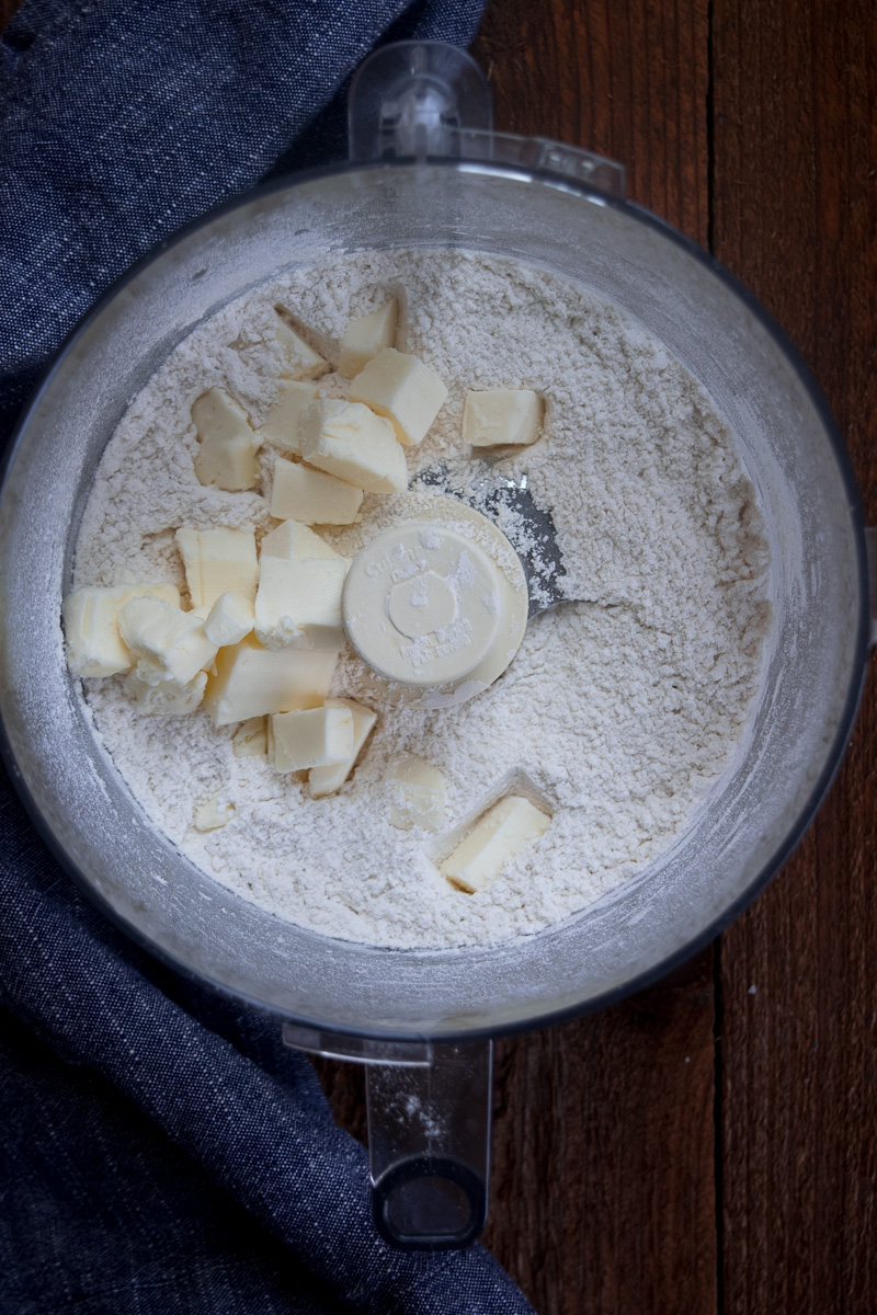 Simple and flaky butter pie crust --an all purpose pie crust that can be used to make tarts, pies, hand pie crust, galettes, and etc.  www.cookeatlaugh.com