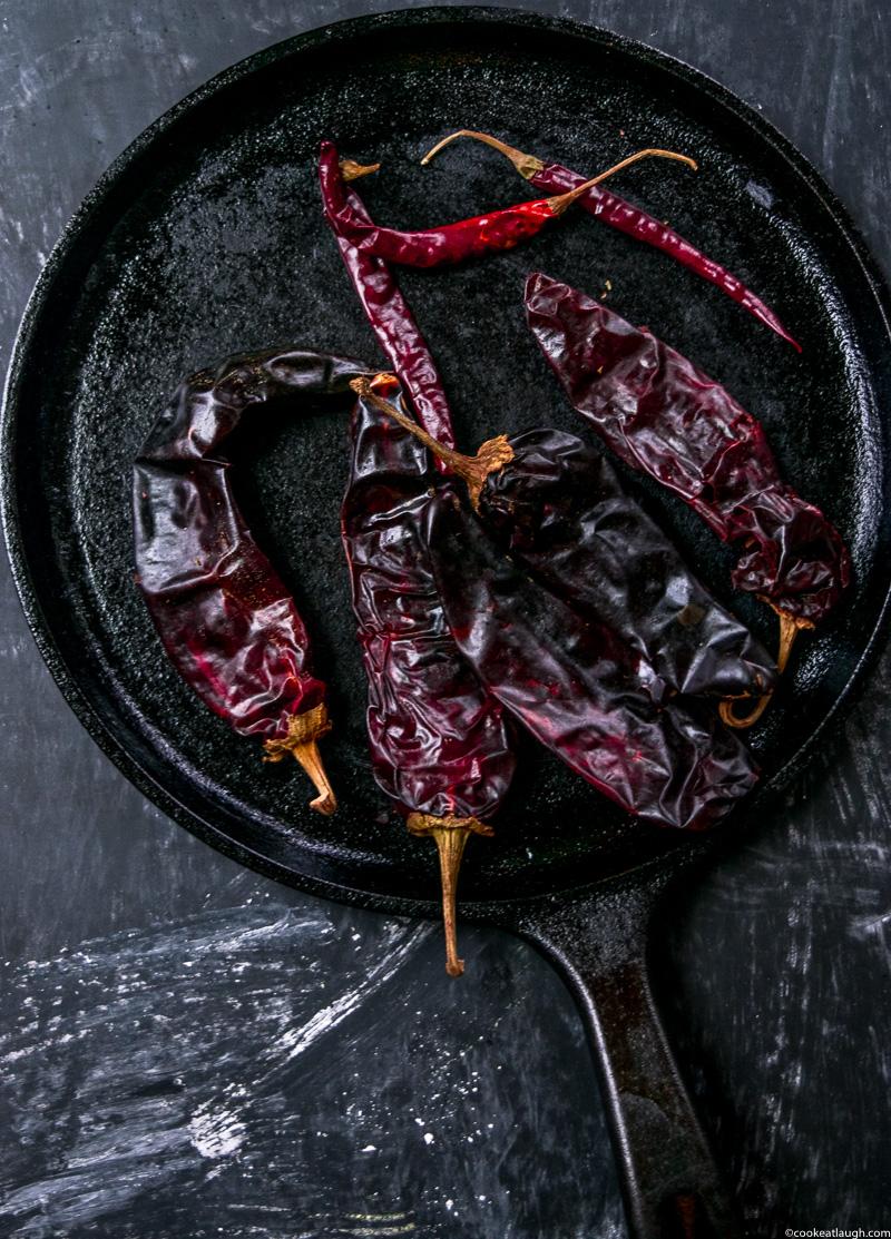 Authentic Red Enchilada Sauce (Salsa Rojas)-16
