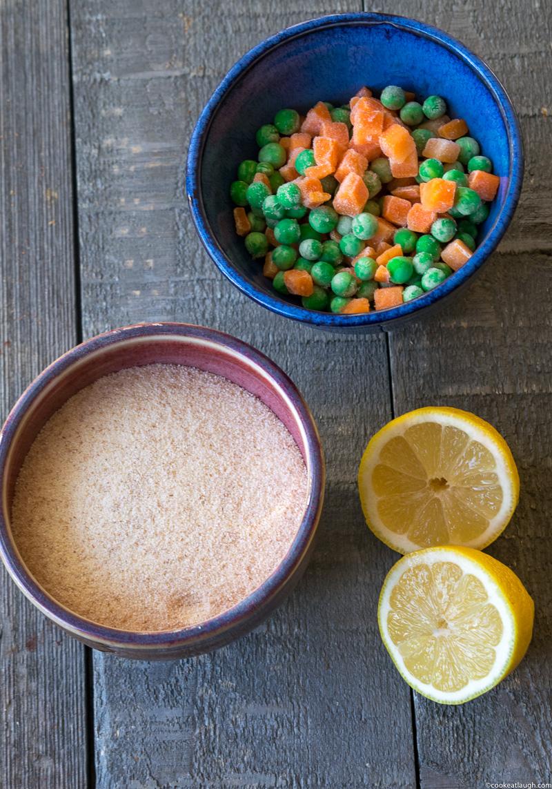 Upma (savory semolina porridge)-a delicious, nutritious, vegetarian, and vegan breakfast that can be made in 20 minutes.| www.cookeatlaugh.com-2