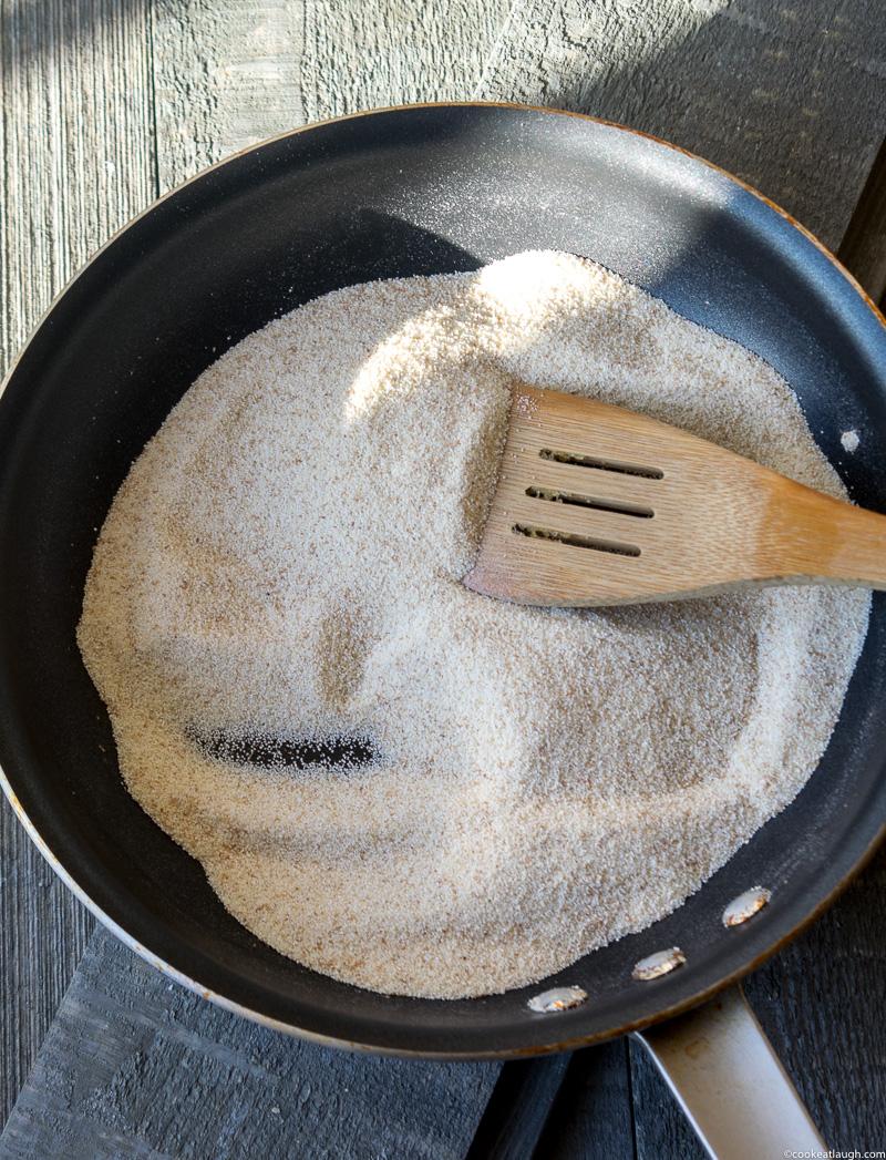 Upma (savory semolina porridge)-a delicious, nutritious, vegetarian, and vegan breakfast that can be made in 20 minutes.| www.cookeatlaugh.com-3