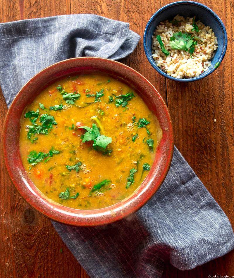 SindhiKhattiDal(sourlentil stew)-4