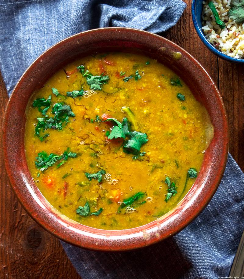 SindhiKhattiDal(sourlentil stew)-6