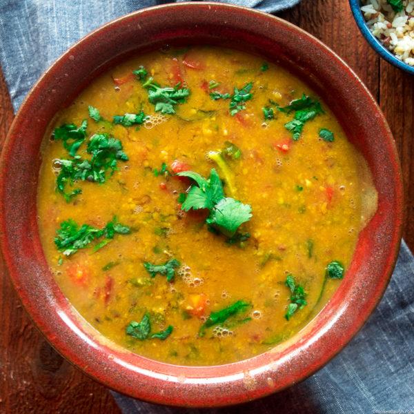 SindhiKhattiDal (sour lentil stew)