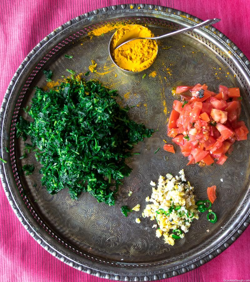 Fenugreek rice pilaf (Methi Chawal)-1