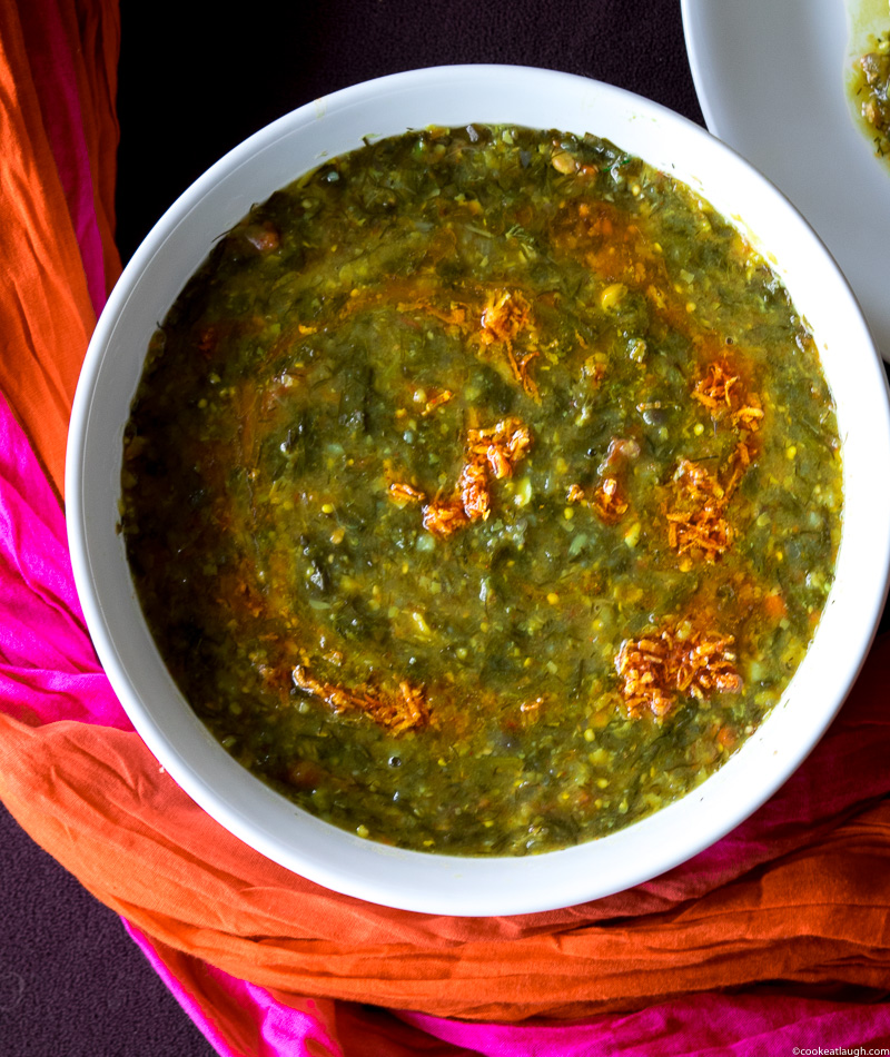 Lentil and vegetable stew (Sai Bhaji)-13