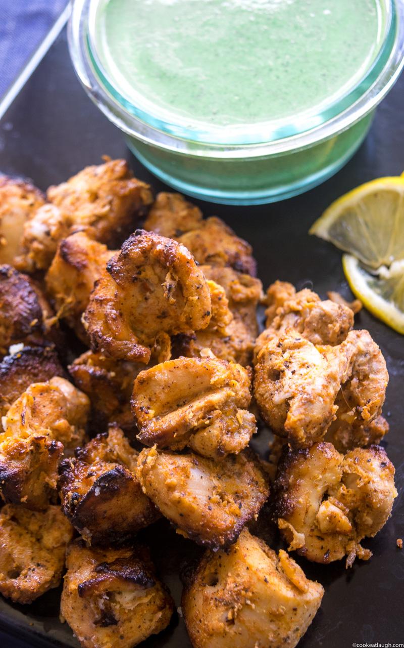 Tandoori Chicken Tikka-7