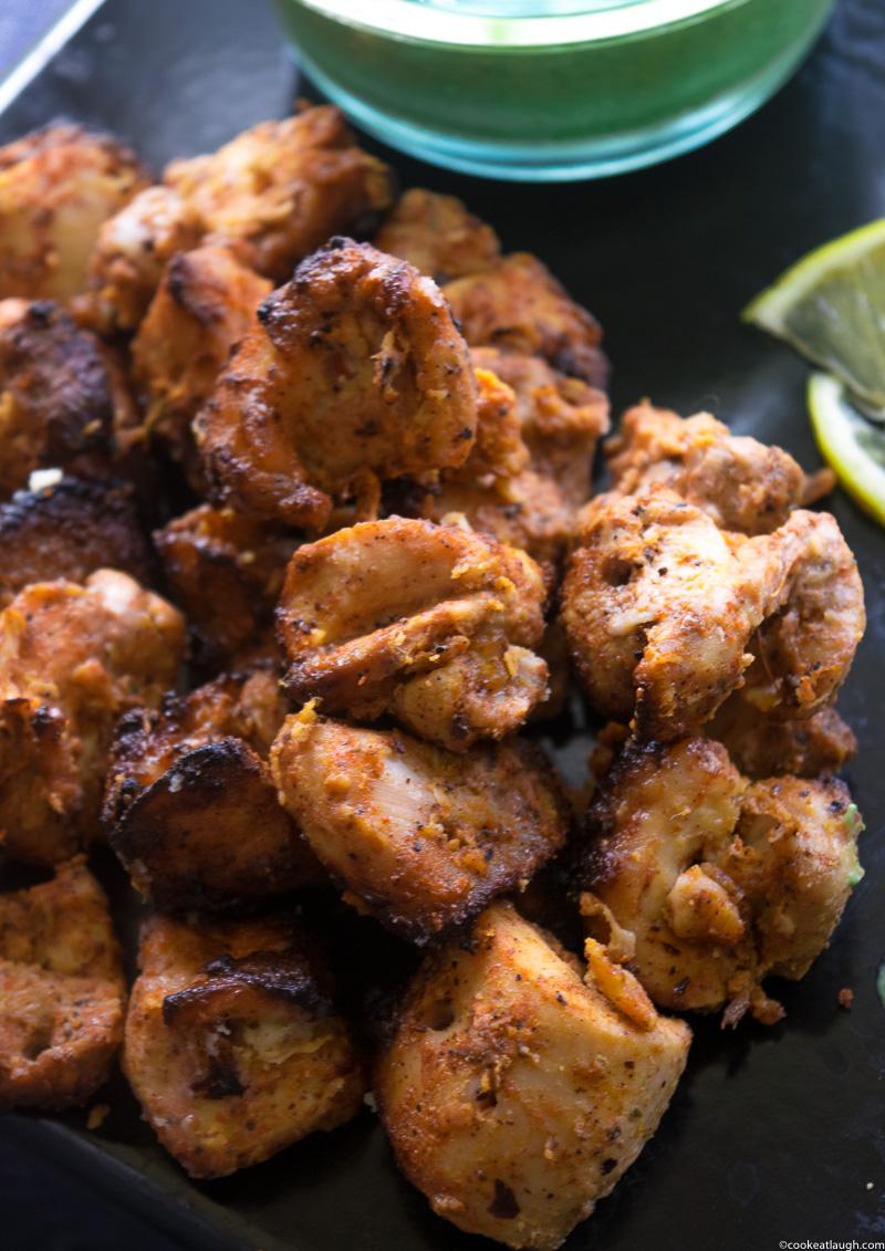 Tandoori Chicken Tikka-8