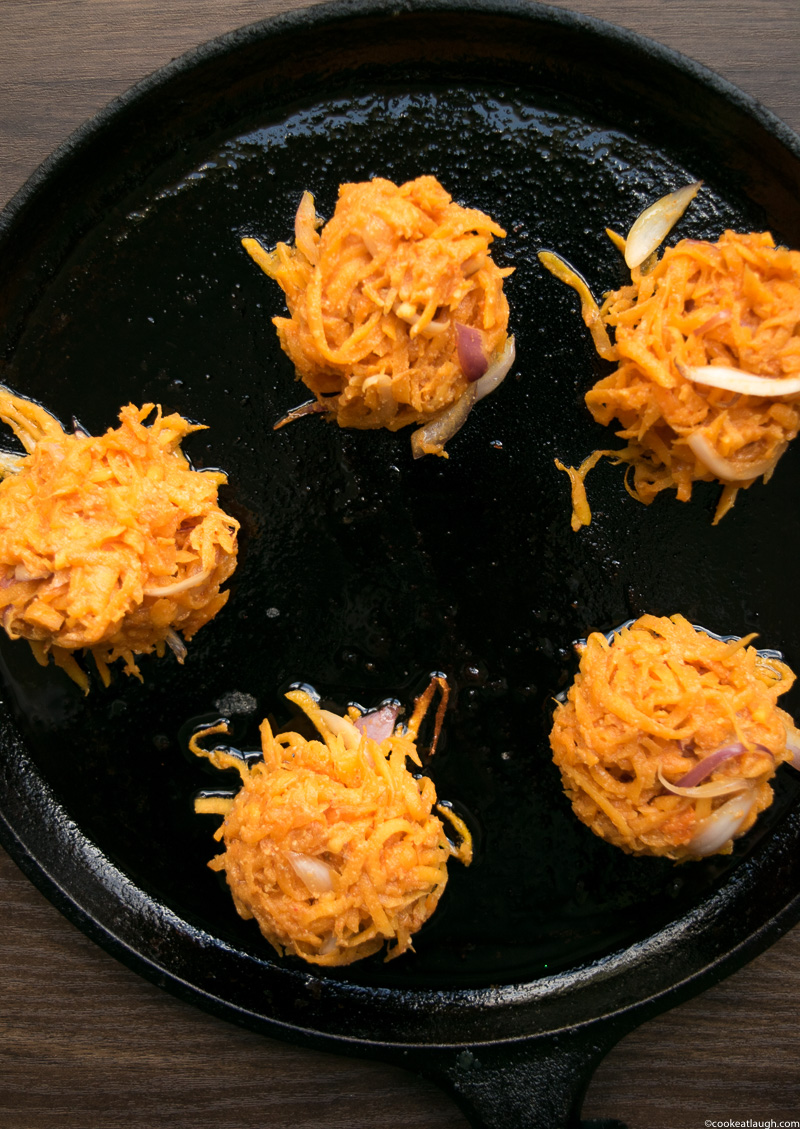 Masala Butternut Squash Fritters-5-2
